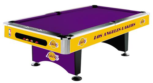 Nba Lakers Pool Table Free Delivery Setup Kit