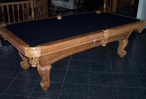 Balboa Medium Oak Pool Table So Cal Pool Tables - Tiburon pool table