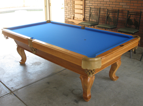 Tiburon Medium Oak Pool Table So Cal Pool Tables - Tiburon pool table