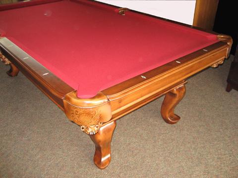 Tiburon Teak Pool Table So Cal Pool Tables - Tiburon pool table